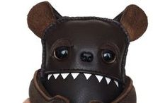 Designer Toys / Leather Monsters available to buy!