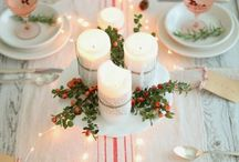 Christmas | Tablescapes / Decorating Your Table and More