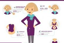 PCOS infographics / These infographics are super helpful resources for all things PCOS