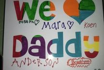 Father's Day / fun ideas to make Father's Day special - crafts, activities, treat ideas and more