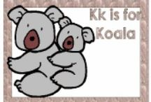 Letter Kk / activities to help toddlers and preschoolers learn the alphabet; fun ideas for crafts, activities, games, and snacks
