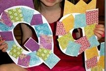 Letter Qq / activities to help toddlers and preschoolers learn the alphabet; fun ideas for crafts, activities, games, and snacks