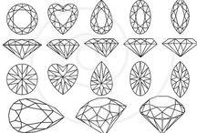 Gems & Jewels / by Hailey Peerenboom