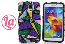 Samsung Galaxy S3/ S4/ S5 Bling Cases / Our 3D Samsung Galaxy S3/ S4/ S5 Bling Cases are 100% Handcrafted with highest quality. Visit our website to see all of our designs! http://www.luxaddiction.com