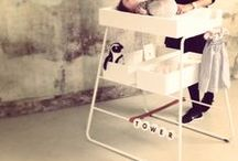 changingTOWER / Changing table for babies - member of the 'TOWERtribe' - designed by BudtzBendix, designed in Denmark.
