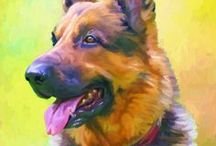 German Shepherd - Art and Gifts / Art, photography and products featuring GSDs