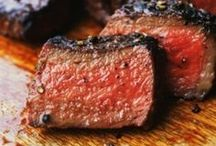 Food: Main; beef / Main dishes involving beef. / by MaryAnne Dunn