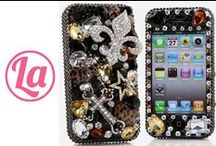 """iPhone 6 Cases / Our 3D iPhone 6 Bling case (4.7"""") are 100% Handcrafted with highest quality. Do you want unique bling case for your iPhone 6? Check us out > http://www.luxaddiction.com"""