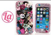 """iPhone 6s/ 6s Plus Cases / Check out our 100% Handcrafted iPhone 6/ 6s/ 6s Plus (5.5"""") Bling Cases. Choose your design here > www.luxaddiction.com"""