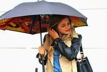 Styles with Umbrellas / We love Umbrella season, so here's a few stylish looks we adore as well.  / by University Village