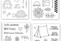 Clear Stamps from SRM - Jane's Doodles
