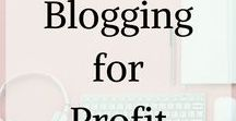 Blogging for profit / Blogging for profit! Thinking of starting to move your blog towards profit? Follow this board! Blogging for beginners | blogging for money | blogging for beginner's ideas | blogging for beginners money