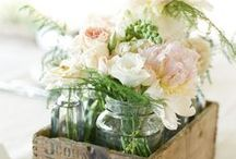 Vintage Wedding Ideas / Re-purpose vintage treasures and use them as one-of-a-kind decorations at your wedding!