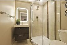 Wilde North Washroom Remodels / washroom, shower room, shower cubicle, bathroom, powder room, tiling