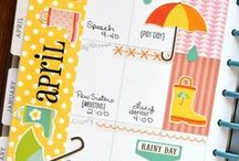 Planners / We'll show you fun and fabulous ways to decorate your planner pages with stickers, stamps and pens