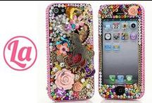 iPhone 5/ 5s/ 5c Cases / This board is only for iPhone 5/ 5S/ 5C Cases. We design iPhone 5/ 5S/ 5C Bling Cases since 8 years. Our Cases are 100% handcrafted with highest quality. Please Select your iPhone Model on the Options, or tell your iPhone Model. Visit http://www.luxaddiction.com to see all of our Unique Designs!