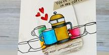 Coffee / Cards for the coffee loving crafter!