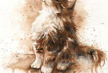 Painting - Cats / Painting - Cats
