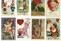 Free Vintage Printables / Here is a collection of free vintage prints that have been converted into digital scans.