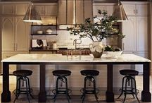 Para Mi Casa / Exposed brick. Large kitchens. Floor to ceiling windows. Comfy couches. / by Chanel Twillie