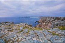 Camping Le Panoramic, Telgruc Crozon Bretagne / #Camping familial de bord de mer avec vue sur la plage et la baie de Douarnenez. Havre de paix dans la nature préservée de la Presqu'île de Crozon,en plein coeur du Parc Naturel Régional d'Armorique, il pourra aussi être le point de départ de #vacances actives (randonnées GR34 à 200 m.,sports nautiques) ou culturelles (musées, folklore)