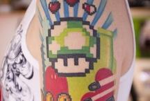 Tattoo moodboard  Nintendo sleeve