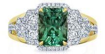 Frederic Sage Glorious Greens / #fredericsage #green #gemstone #jewelry