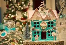 Itsy Bitsy Houses / Putz Houses and mini craft houses
