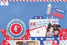 Doodlebug Stars & Stripes Collection / by Doodlebug Design Inc