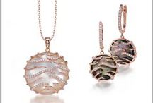 Luna by Sage / Frederic Sage Luna Collection is made with Beautiful Mohter of Pearls set in Gold and DIamonds. #SageLuna