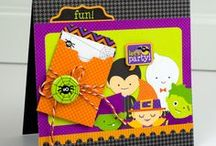 doodlebug halloween parade collection / In spooky shades of black, orange, purple & green, this artful assortment of colorful designs and patterns is just the potion you need to brew up a truly haunting holiday. And with new Pixies, Doodads and Sprinkles to match, your hair-raising treats and snacks are sure to please trick-or-treats of all ages.  [Released Summer 2013]  / by doodlebug design inc.
