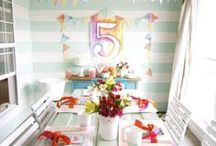 Birthday ideas / by Gwen Wentland-Mikinski