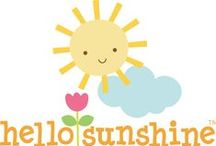 doodlebug hello sunshine / by doodlebug design inc.