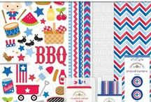 doodlebug patriotic picnic / by doodlebug design inc.
