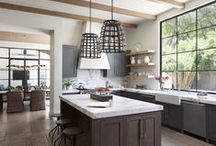 kitchens-grey/black/other / by Autumn Clemons