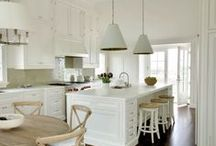 kitchens-white / by Autumn Clemons