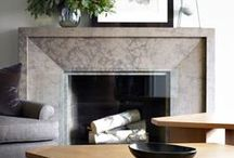 fireplaces + mantles