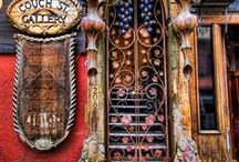 Doors!!  I'm obsessed ....... / I'm not sure why but I have always loved doors....these are some of the most beautiful and unique doors from all over the world. / by Rhonda Robbins
