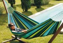 Détente au jardin ! / Bains de soleils, transats et hamacs... profitez de moment de farniente et de détente au bord de la piscine, au jardin ou sur la terrasse. Moments de purs bonheurs garantis !
