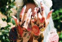 Ink for skin