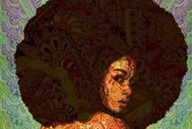 de beaux cheveux / Beautiful Hair / by Sherry Blackman