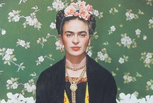 Frida Kahlo / Frida Kahlo de Rivera (July 6, 1907 – July 13, 1954; born Magdalena Carmen Frieda Kahlo y Calderón) was a Mexican painter, born in Coyoacán,and is perhaps best known for her self-portraits. Her life began and ended in Mexico City, in her home known as the Blue House. Frida's work has been celebrated in Mexico as emblematic of national and indigenous tradition, and by feminists for its uncompromising depiction of the female experience and form.