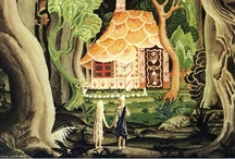 """Kay Nielsen / Kay (pronounced """"Kie"""") Rasmus Nielsen (March 12, 1886 – June 21, 1957) was a Danish illustrator who was popular in the early 20th century, the """"golden age of illustration."""" He illustrated many fairy tale books, including """"East of the Sun and West of the Moon,"""" & """"Fairy Tales by Hans Andersen."""" He is is also known for his collaborations with Disney for whom he contributed many story sketches and illustrations."""