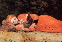 Readers Reading - Paintings