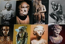 Sculpture Garden / The essence of a sculpture must enter on tip-toe, as light as animal footprints on snow. ~  Hans Jean Arp
