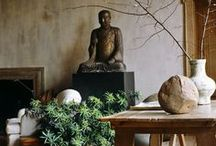 INTERIORS /  Artful, classic and timeless spaces. Furniture, art and accessories to compliment each.  / by Carolyn Machado