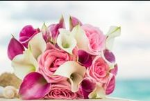 Wedding Flower Bouquets / Flower bouquets from past Wedding and Vow Renewal ceremonies - cancunweddingvows.com