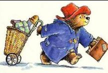 Paddington Bear / Paddington Bear 1st appeared on 13 Oct. 1958 & was subsequently featured in more than 20 books written by Michael Bond & first illustrated by Peggy Fortnum. The polite bear from deepest darkest Peru, with his old hat, battered suitcase (complete with a secret compartment, enabling it to hold more items than it would at first appear), duffle coat and love of marmalade has become a classic character from English children's literature.