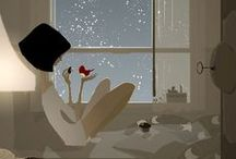 Pascal Campion / Visual Designer/Illustrator Pascal Campion has the ability and sensitivity to create atmospheric mood with light. He is a master artist who illustrates moments in his life that evoke vivid memories of similar experiences on the viewer.