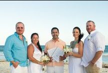 "Double Wedding Vow Renewal / BUY ""ONE"" Vow Renewal Package, and  the second couples gets 50% OFF - Visit cancunweddingvows.com"